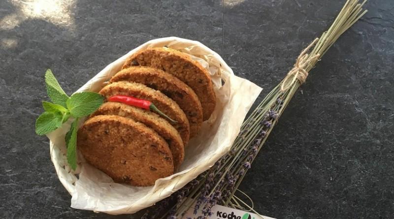 Овсяное печенье с шоколадом и розмарином