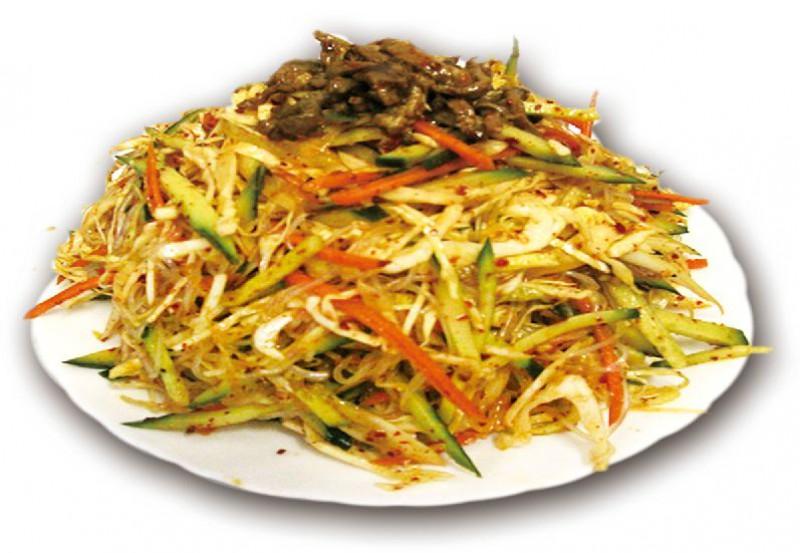 Китайский салат острый