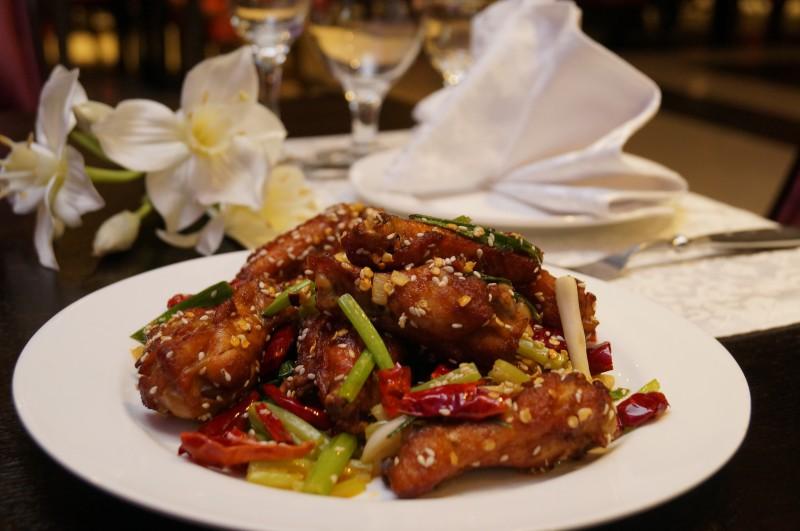 Жареные крылышки по-китайски