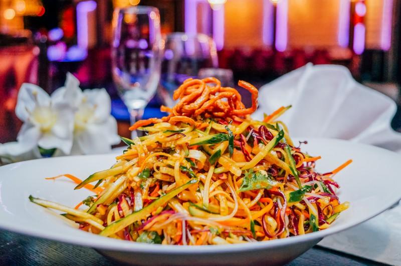 Салаты китайской кухни