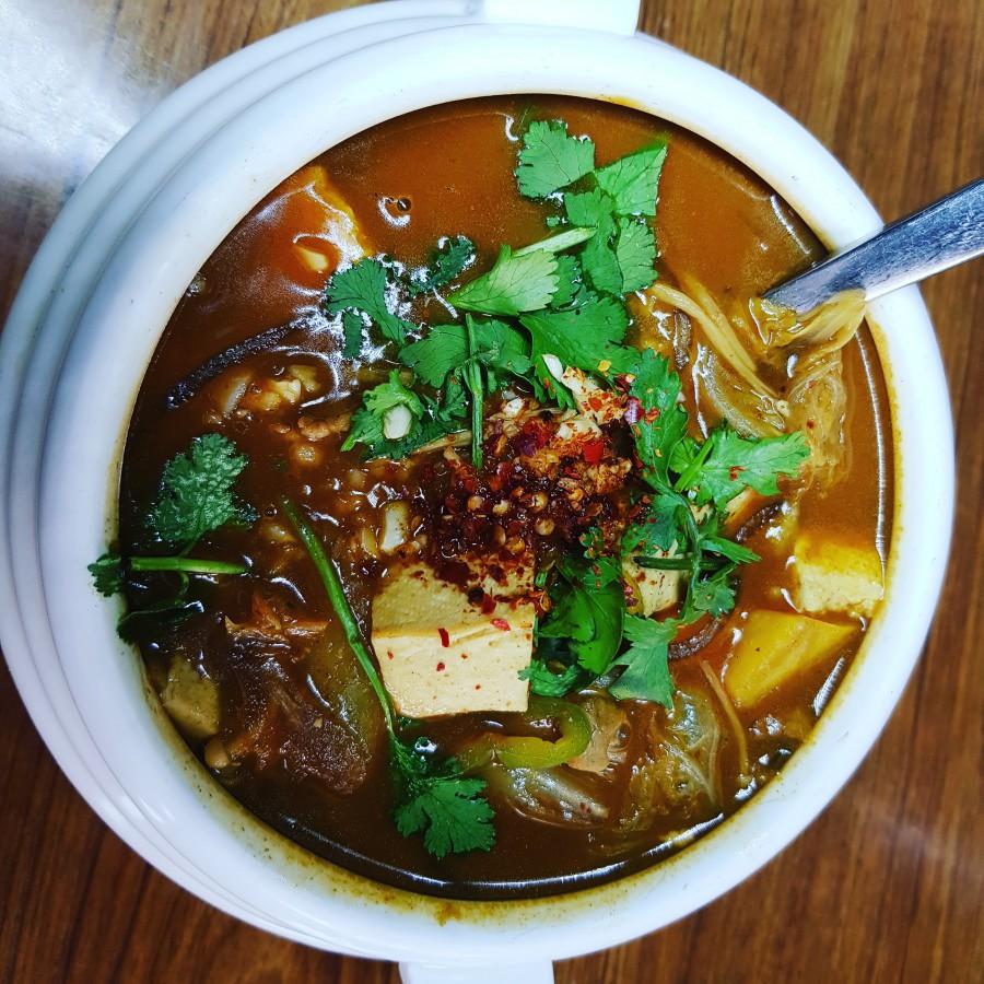 Суп из тофу