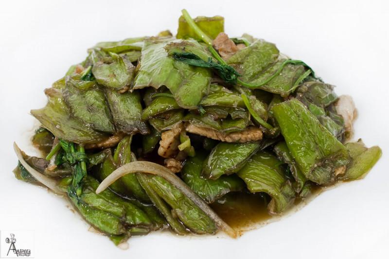 Перец зеленый жареный