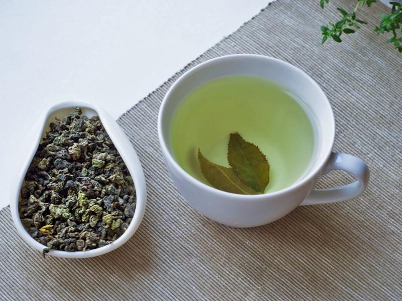 Молочный улун (зеленый чай)