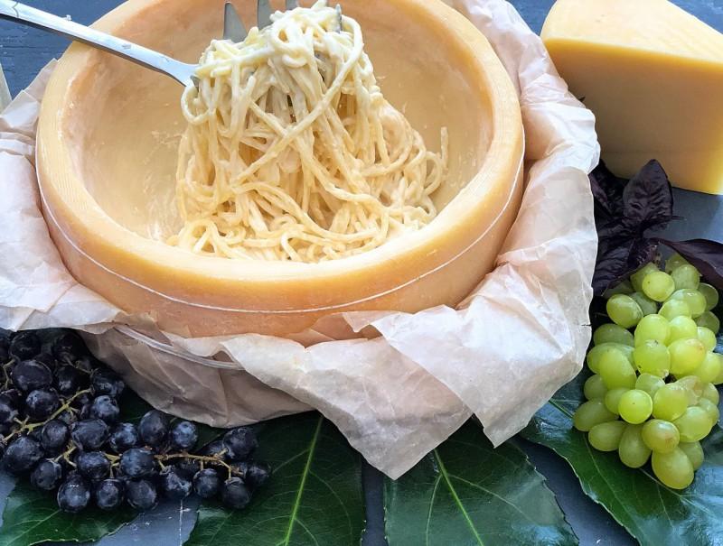 Спагетти в сыре «Грано Падано»  (310 гр)
