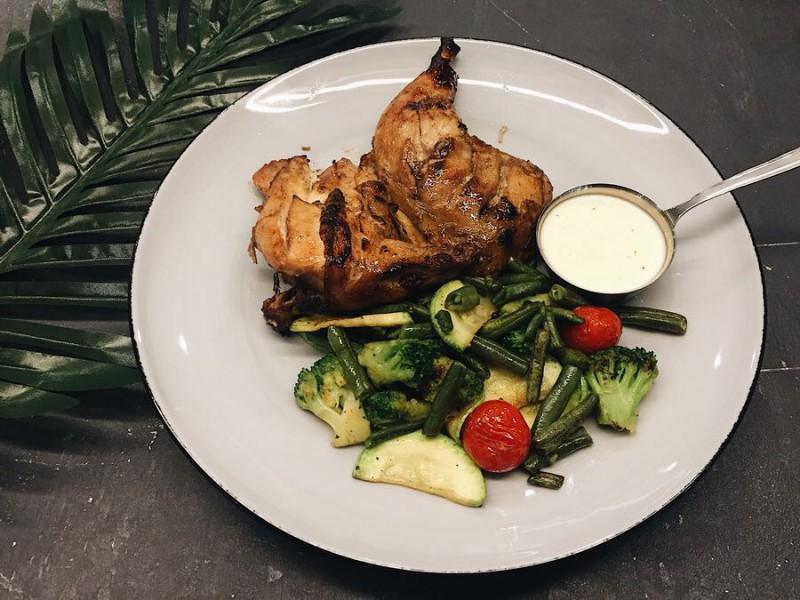 Цыплёнок с овощами