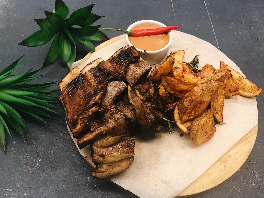 Горячее из мяса