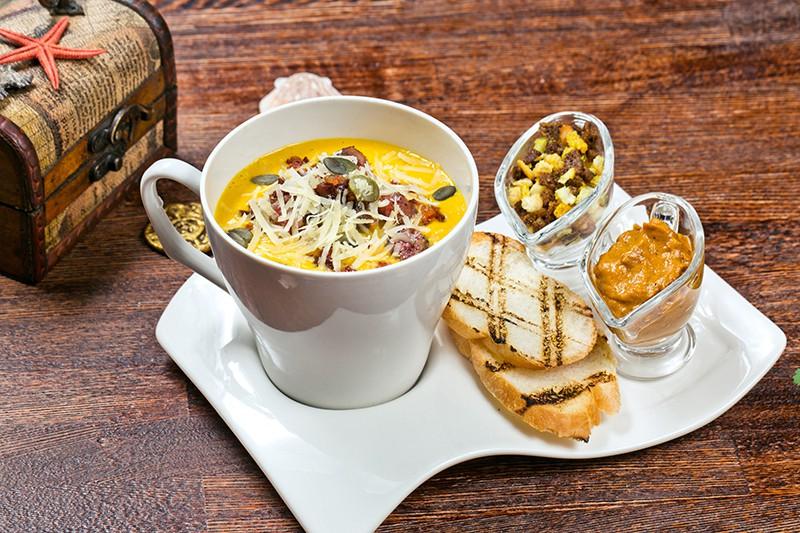 Крем-суп от капитана Барбосса.
