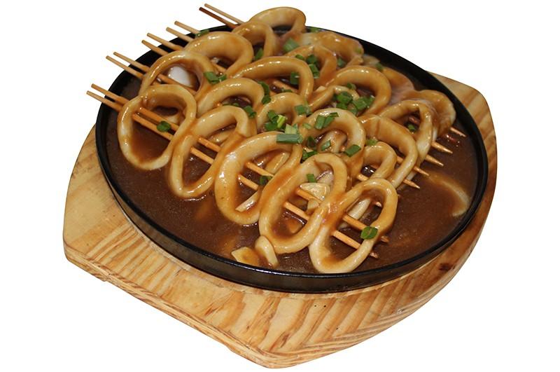 Кальмары на шпаге