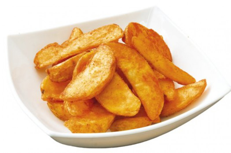 Картофельные дольки со-специями