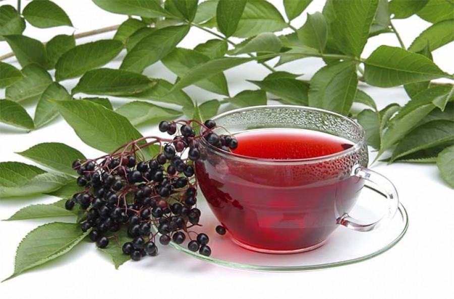 Чай со смородиной и медом